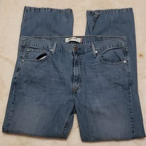 Levis Boot Cut 527 Blue Jeans 38x30